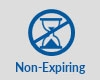 Non-expiring